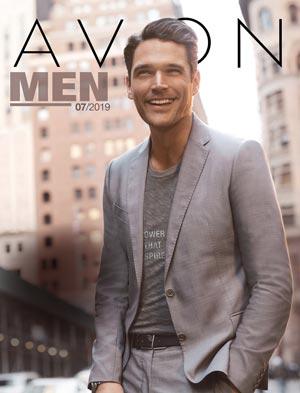 Katalog Avon Men 7/2019 - Męskie zapachy okładka pdf