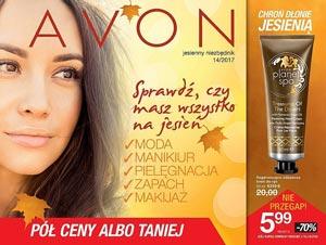 Avon Minikatalog 14/2017 Jesienny niezbędnik okładka pdf