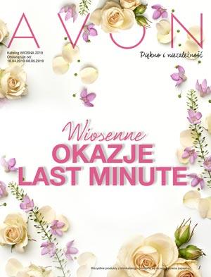 Avon Minikatalog 6/2019 Wiosenne okazje last minute okładka pdf
