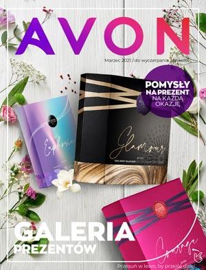 Okładka Avon Minikatalog Prezenty Kampania 3, Marzec 2021