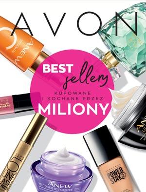 Avon Katalog Bestsellery okładka pdf